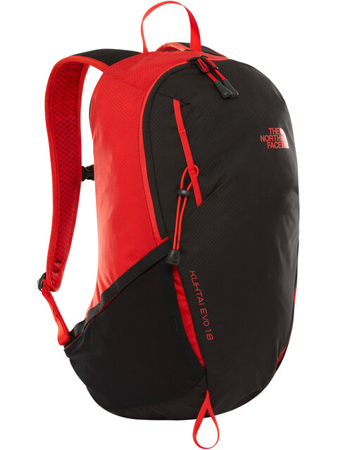 The North Face Kuhtai Evo 18 Backpack Fiery Red/TNF Black